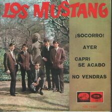 LOS MUSTANG EP Spain 1965 Help! / Yesterday (THE BEATLES) +2 ( n spanish)