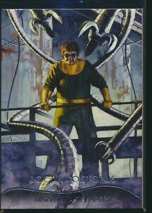 2020 Upper Deck Marvel Masterpieces Base Level 1 #1 Dr. Doctor Octopus /1999