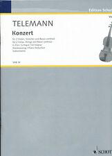 Telemann - Konzert G-Dur für 2 Violen, Streicher und Basso continuo