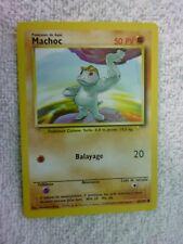 Carte pokémon machoc 52/102 commune set de base wizard