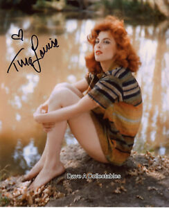 """TINA LOUISE signed photo - """"Ginger Grant"""" in GILLIGAN's ISLAND - D9084"""