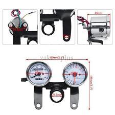 Moto coupe kmh compteur de vitesse tachymètre vitesse jauge de carburant digital affichage led
