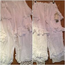 Ritanotiara W Magnolia arco Osfa Snow White Pearl Bloomers Pantalones Pantalones de ganchillo