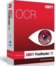 ABBYY FineReader 12 Portable PDF converter/OCR/Pro (Fast digital delivery)