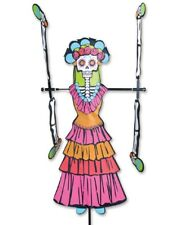 Day of the Dead Woman Whirligig Wind Spinner by Premier Kites