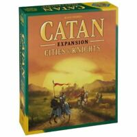 Catan: Cities & Knights Expansion 5th Edition [Board Game, 3-4 Players] NEW
