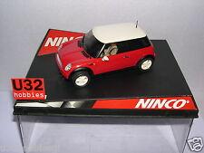 NINCO 50275 SLOT CAR  MINI COOPER RED  ROAD CAR  MB