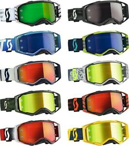 2020 Scott Adult Prospect MX Goggles - Motocross Dirtbike Offroad ATV