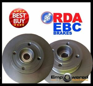 REAR DISC BRAKE ROTORS for Peugeot 307 2.0TD Girling Rear Brakes 10/2006 on