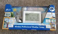 LA CROSSE Professional Weather Center-100% Solar Powered Wireless #433897 Bin 15