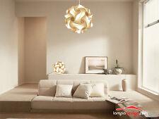 Lampadario salotto sala cucina a sospensione sfera 50 cm design anni 70, MONTATO