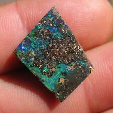 Boulder opal 100% natural solid opal 10.35 cts ready to be set in jewelry B869