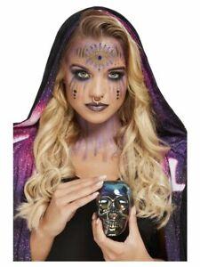 Fortune Teller Make Up Kit FULL Fancy Dress Gypsy Face Painting kit Halloween