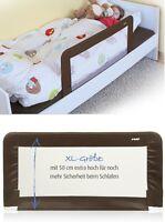 Reer Sleep`n Keep Bettgitter XL 100 cm inkl. Tasche für unterwegs Braun 45030