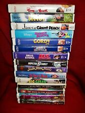 WALT DISNEY'S VHS MOVIE LOT OF 15  **Great List of Titles**
