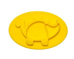 """""""Stegos The 3D Dinomat""""- 100% Food Grade Silicone Suction Placemat for Kids"""