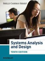 Shelly Cashman: Systems Analysis and Design by Harry J. Rosenblatt (10th Editio)