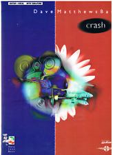 Music: DAVE MATTHEWS BAND: CRASH  12 Arrangements, Guitar, Vocal, Tablature.