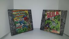Marvel Comics Canvas Print Incredible Hulk & Captain America