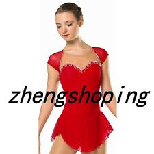 New Girls' Ice Skating Dress Women's Competition Figure Skating Dresses 8807