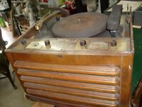 Rare Vintage  Silvertone Radio Phonograph Wire recorder Model 5731 - Untested