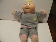 """Vintage 78-88 Cabbage Patch Kids Boy or Girl 14"""" Doll Baby Jogging Outfit No Tag"""