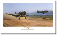 Tiger Dawn by Jim Laurier by Jim Laurier - P-40 E Warhawks - Aviation Art