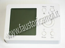 IMIT THERMOSTAT PROGRAMMABLE THERMOSTAT WEEKLY TECHNO WPT ART. 578130 WHITE