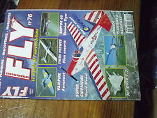 5µ?§ Revue Fly n°76 Plan encart Twin Peewee / Jet Over 7.7 Ceven Up Vampire