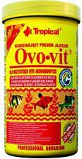 TROPICAL OVO-VIT 250ml  Strengthening egg flakes  TROPICAL FISH FOOD
