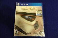 Star Wars Battlefront Deluxe Edition (PS4) w/ Trading Disk Brand New Sealed