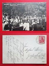 AK LANGENBERNSDORF bei Werdau 1924 Werdauer Wald Bahnhof Bauernsteig    ( 21206