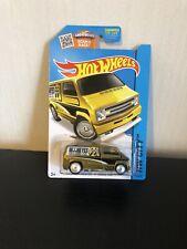 Hot Wheels. Super Treasure Hunt. Custom 77 Dodge Van ( Mooneyes)