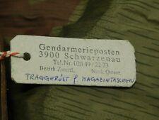 Genderarmeire Austrian Police Y Straps