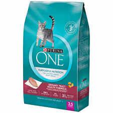 Purina ONE Urinary Tract Health Formula Adult Premium Cat Food 3.5 lb. Bag