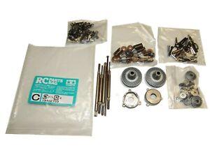 "Tamiya Grand Hauler ""BLACK"" 56356 1/14 Semi Bag C Diff Gears, Axles, Bushings"