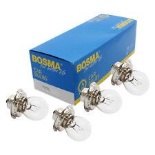 4x Ampoule de lampe Bosma P26s 6V 15W Premium LAMPE BOULE certification E pour