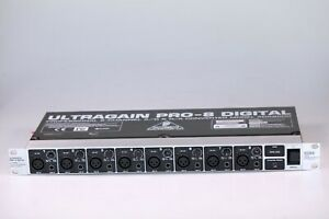 Behringer Ultragain PRO-8 8-Channel AD DA Converter ADA8000 ADAT READ LISTING