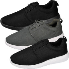 Mens Running Trainers Casual Lace Up Gym Walking Sports Shoes Size BNWT