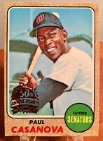 2017 Topps Heritage 1968 Paul Casanova Senators 50th Anniversary Buyback #560