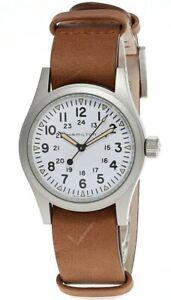 HAMILTON Khaki Field Hand Wind White Dial Men's Watch H69439511