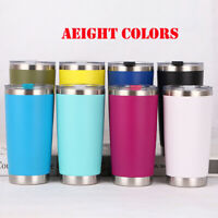 New 20oz Stainless Steel Vacuum Tumbler Insulated Travel Coffee Mug Cup Flask#OW