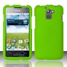 Hard Rubberized Case for Huawei Premia 4G M931 - Green