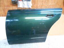 1997  Saturn sl2  factory Exterior door skin Teal green door panel left rear