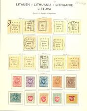 LITHUANIA -- 195 STAMPS-- */0 --VF
