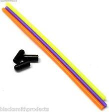 Plástico Antena Tubo Tubo Receptor Antena w / Cap X3 Para 2.4 Ghz receptores 119mm
