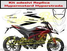 Ducati hypermotard sp hyperstrada kit adesivi completo per moto rossa