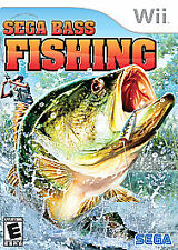 Sega Bass Fishing (Nintendo Wii, 2008) Rated E For Everyone