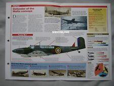 Aircraft of the World Card 39 , Group 10 - Fairey Fulmar
