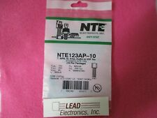 QTY 10 NTE123AP Silicon NPN Transistor for use in Audio Amplifier & Switch App 1